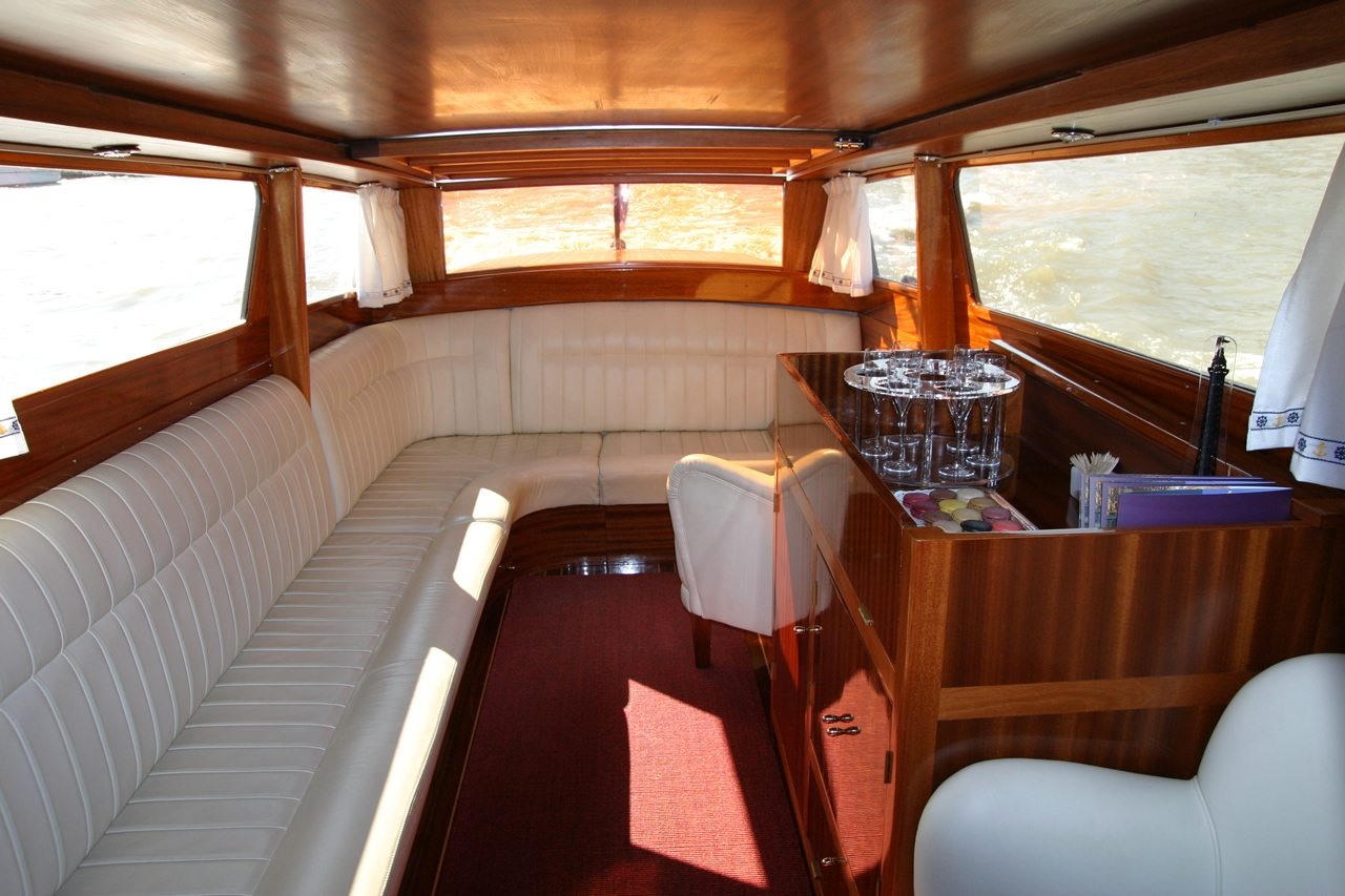 River Limousine Paris luxury boat interior