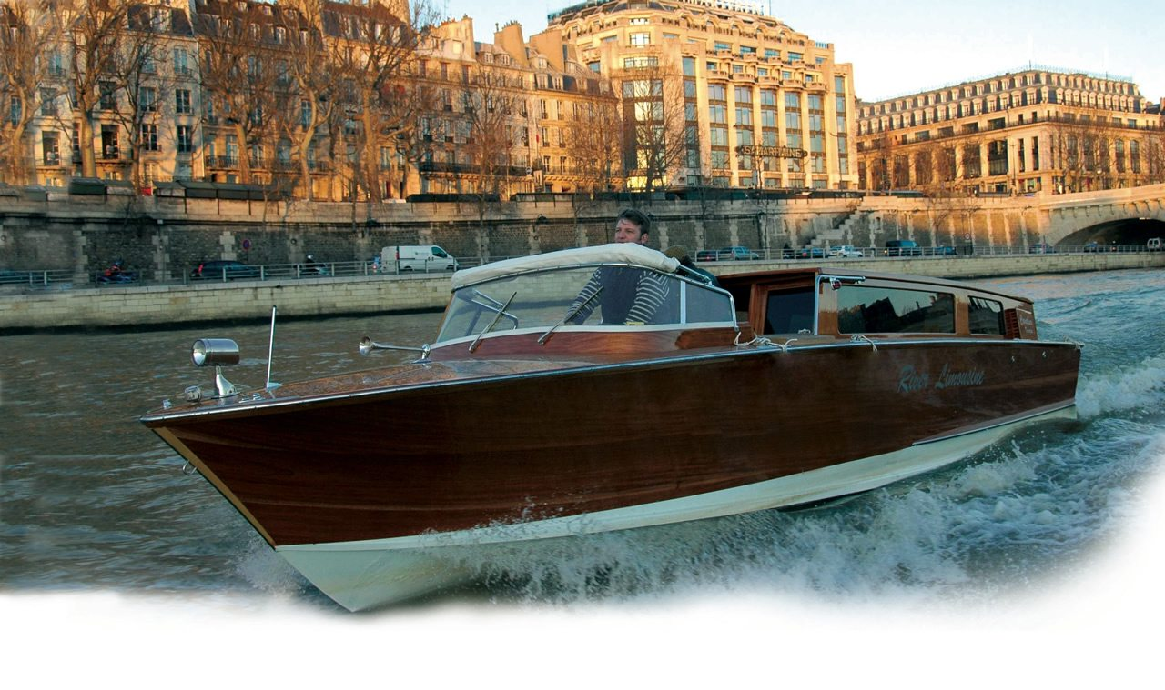 River Limousine Luxury boat paris