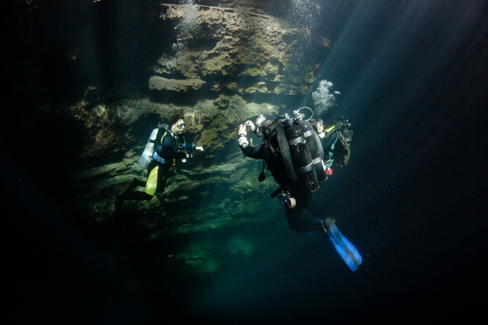 Catherwood - Cenote diving