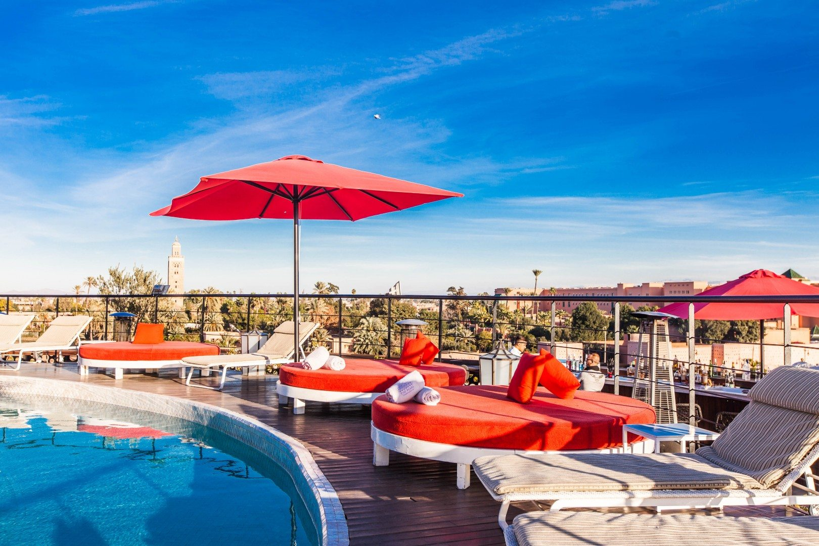 Sky Lounge in the Pearl Marrakech Hotel