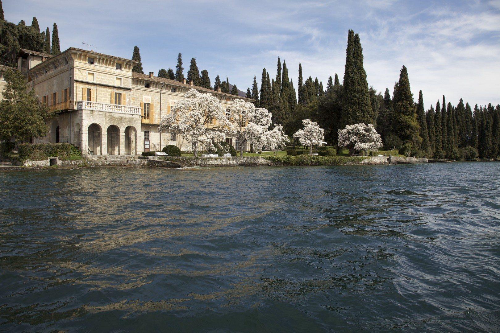 palazzo facade & lake