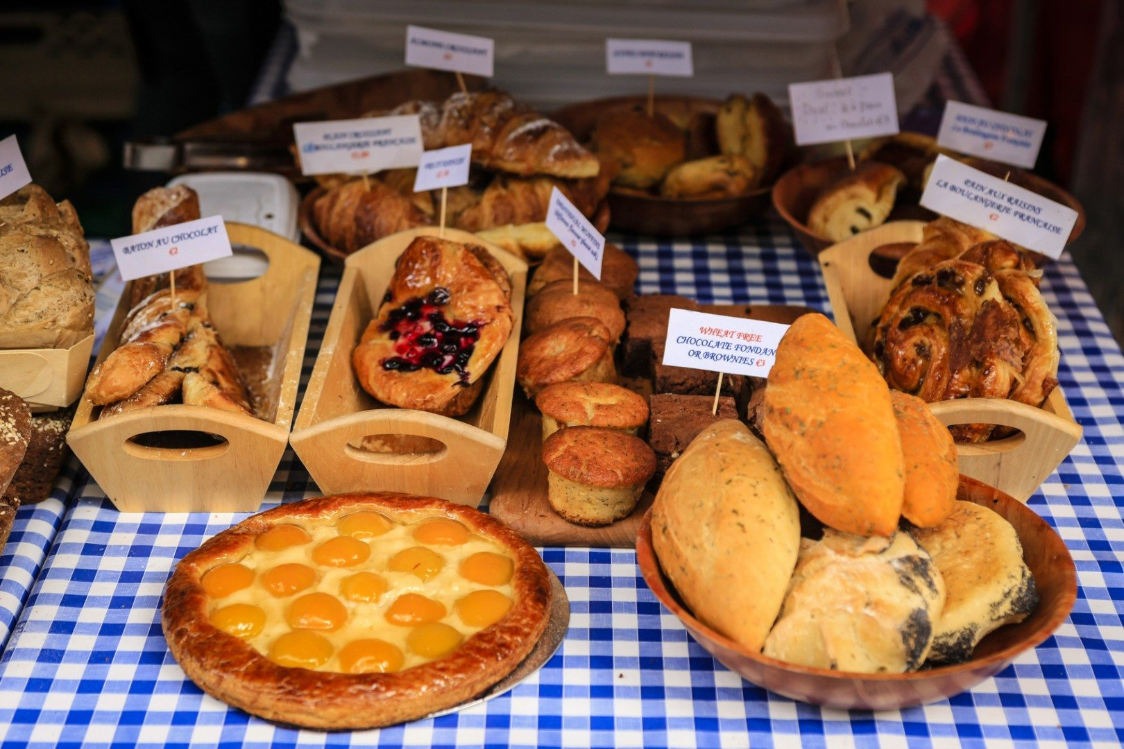 Irish bread market stand