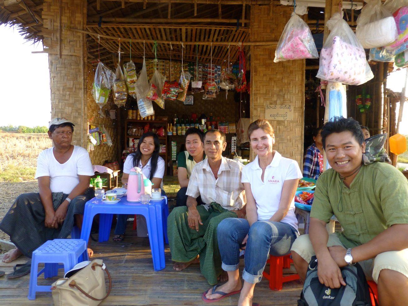 Amara Foundation visit