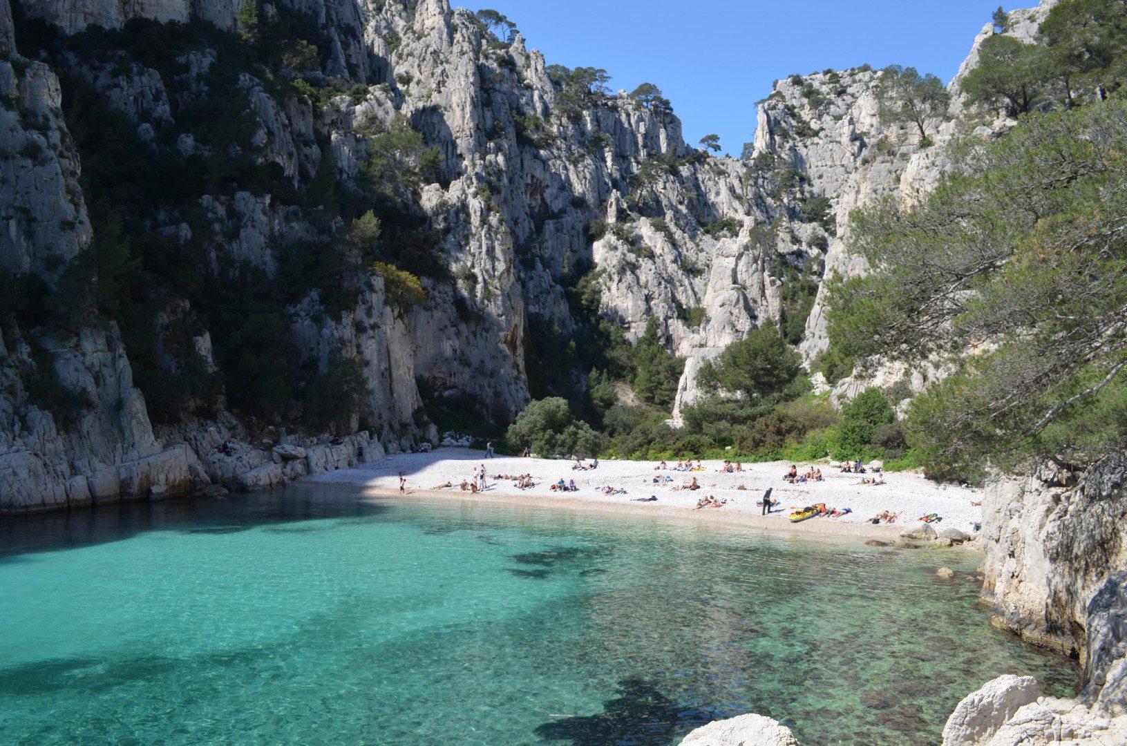 Calanque d'En-vau beach
