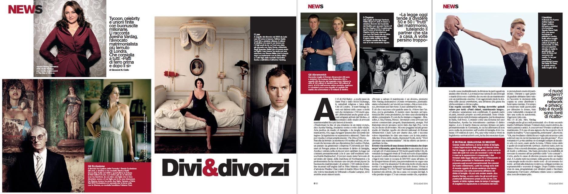 Divi & Divorci, La Repubblica