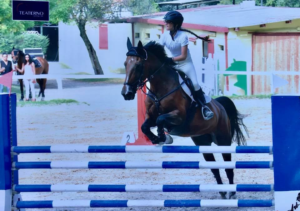 Helena Vardag-Walters has a need for speed at the National A**