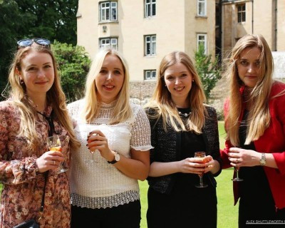 The city of perspiring dreams: Vardags travels to Cambridge for the QBLS garden party