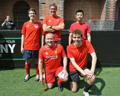 Vardags football team make 5-a-side debut