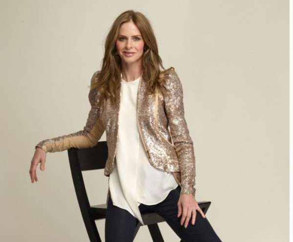 Fashion victim: Trinny Woodall chased by her late ex-husband's debt