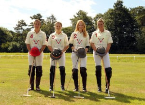 Vardags-sponsored polo team celebrates its first outing