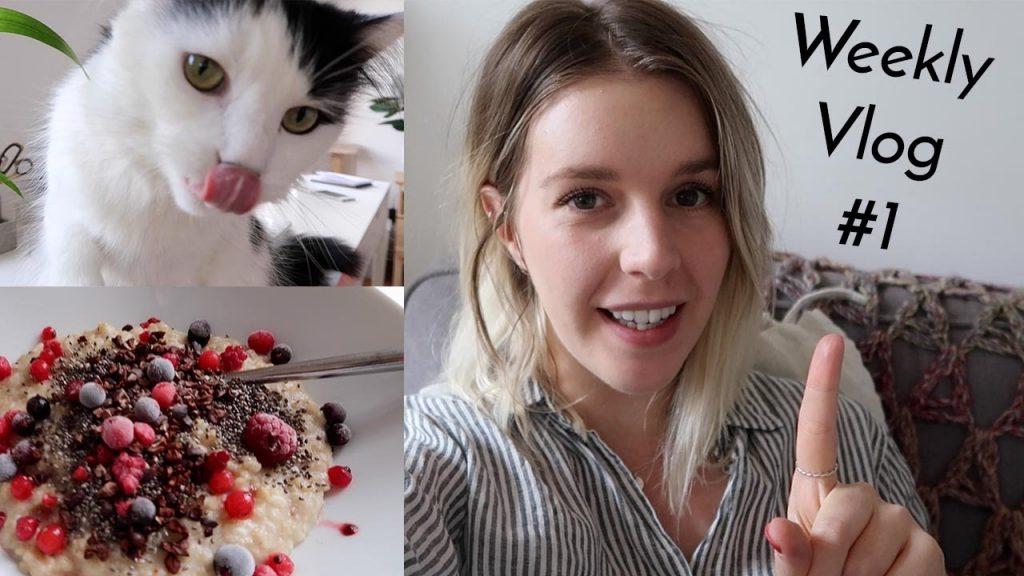 WEEKLY VLOG #1 | Vegan Fish, Helicopter Flight + Kitten Play