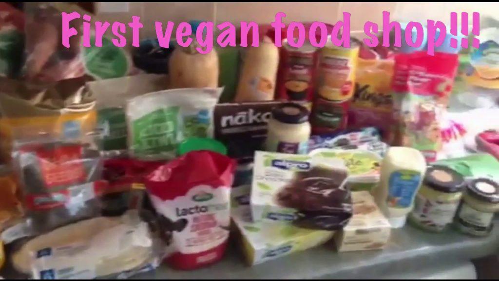 My first vegan food shop!