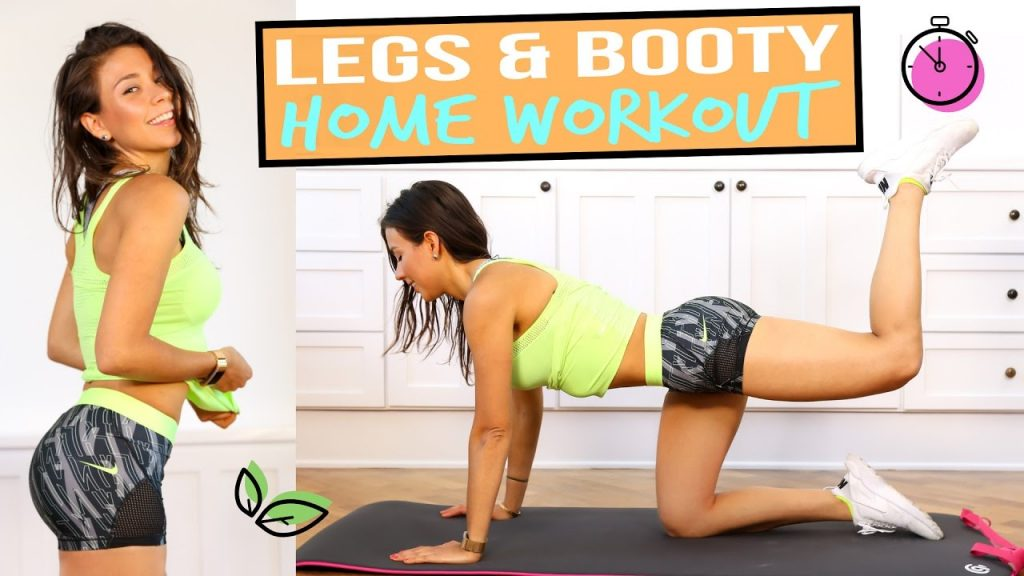 TONED LEGS & BUTT WORKOUT AT HOME (7 min. + No Equipment Needed)