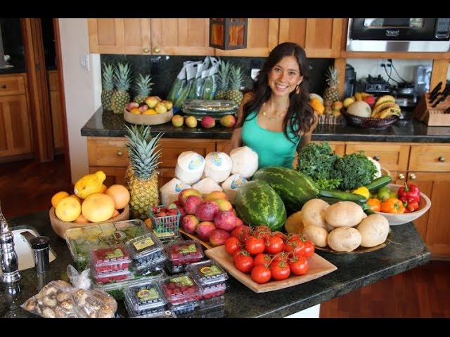My Raw Vegan Food Haul #RawvanaFit