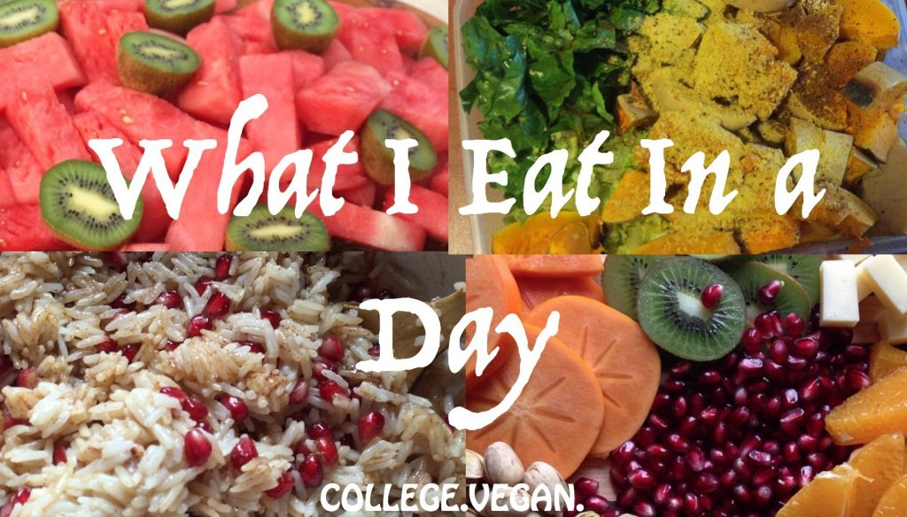 What I Eat In a Day IN COLLEGE- Simple, Healthy, Vegan Food