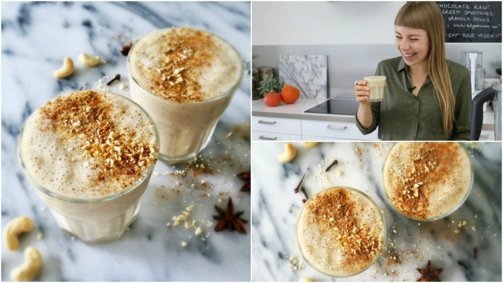 Raw Vegan Eggnog | Healthy Holiday Drink