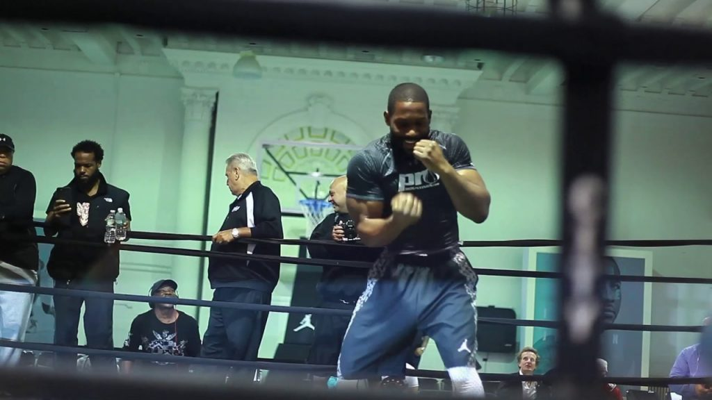 VEGAN HEAVYWEIGHT BRYANT JENNINGS IS JACKED!
