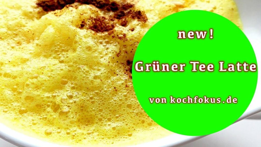Grüner Tee Latte | Green Tea Latte | homemade | vegan | das perfekte Rezept