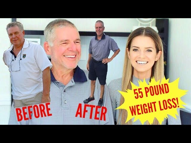 MY 60-YEAR-OLD DAD'S 55-POUND WEIGHT LOSS ON A PLANT-BASED DIET! 🌱