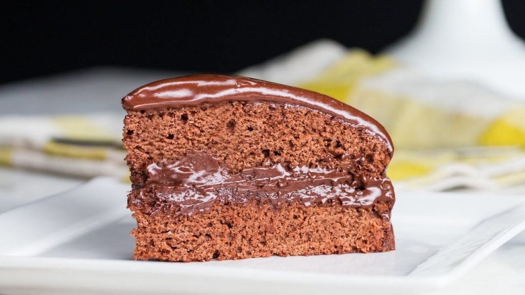 The Most Decadent Vegan Chocolate Cake