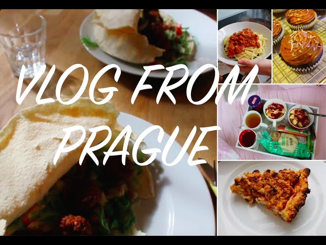 VLOG: PRAGUE (FOOD FESTIVAL, VEGAN DESSERTS)