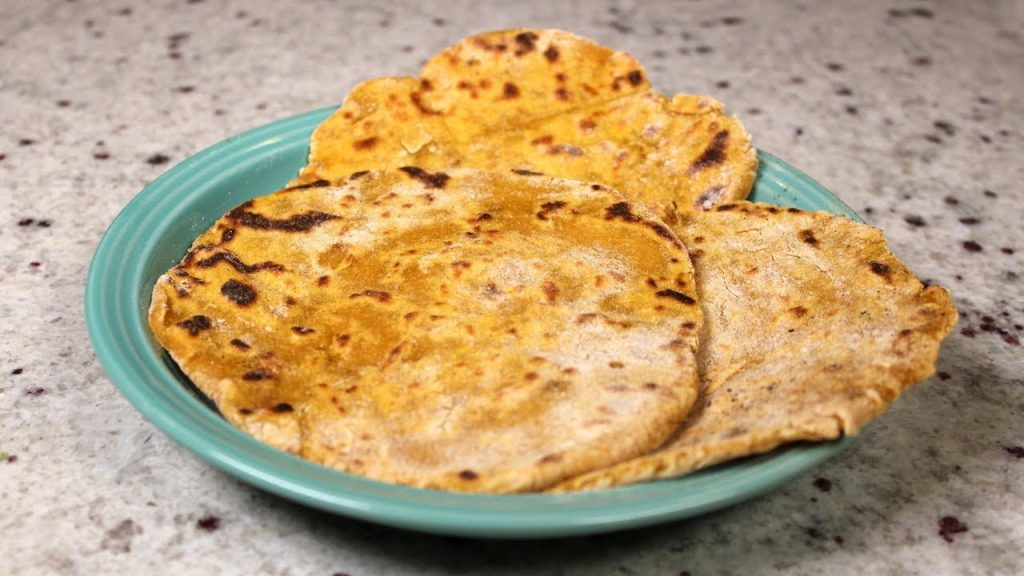 Vegan Sweet Potato Flat Bread: The Whole Food Plant Based Recipes