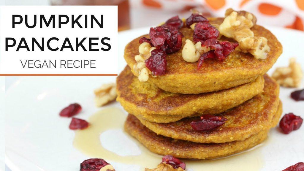 Healthy Pumpkin Pancake Recipe | Vegan + Gluten Free