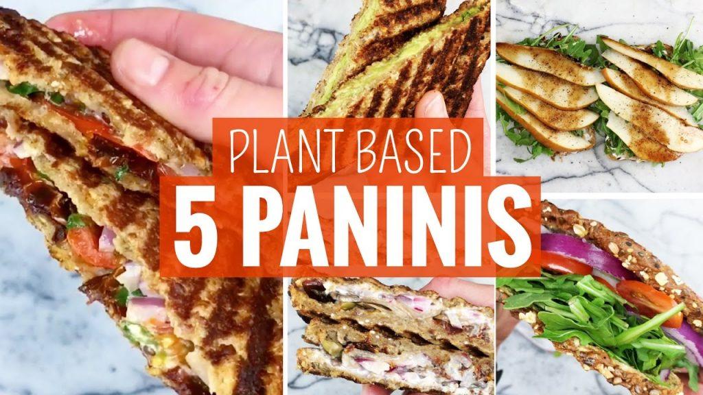5 Easy Panini & Toasted Sandwiches   Plant Based