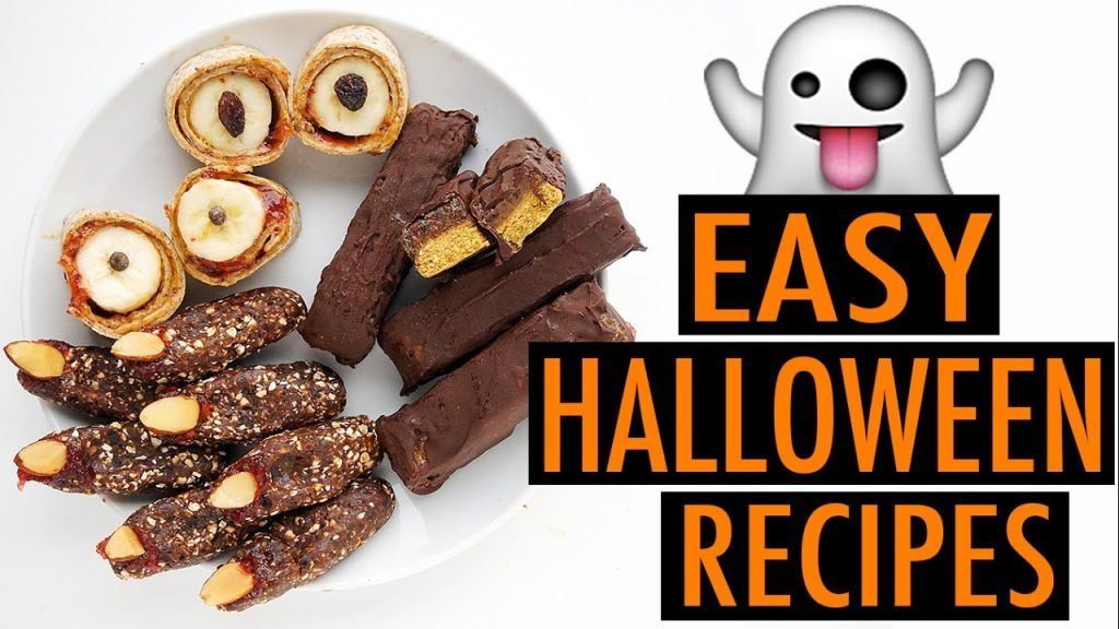 EASY HALLOWEEN RECIPES (VEGAN)