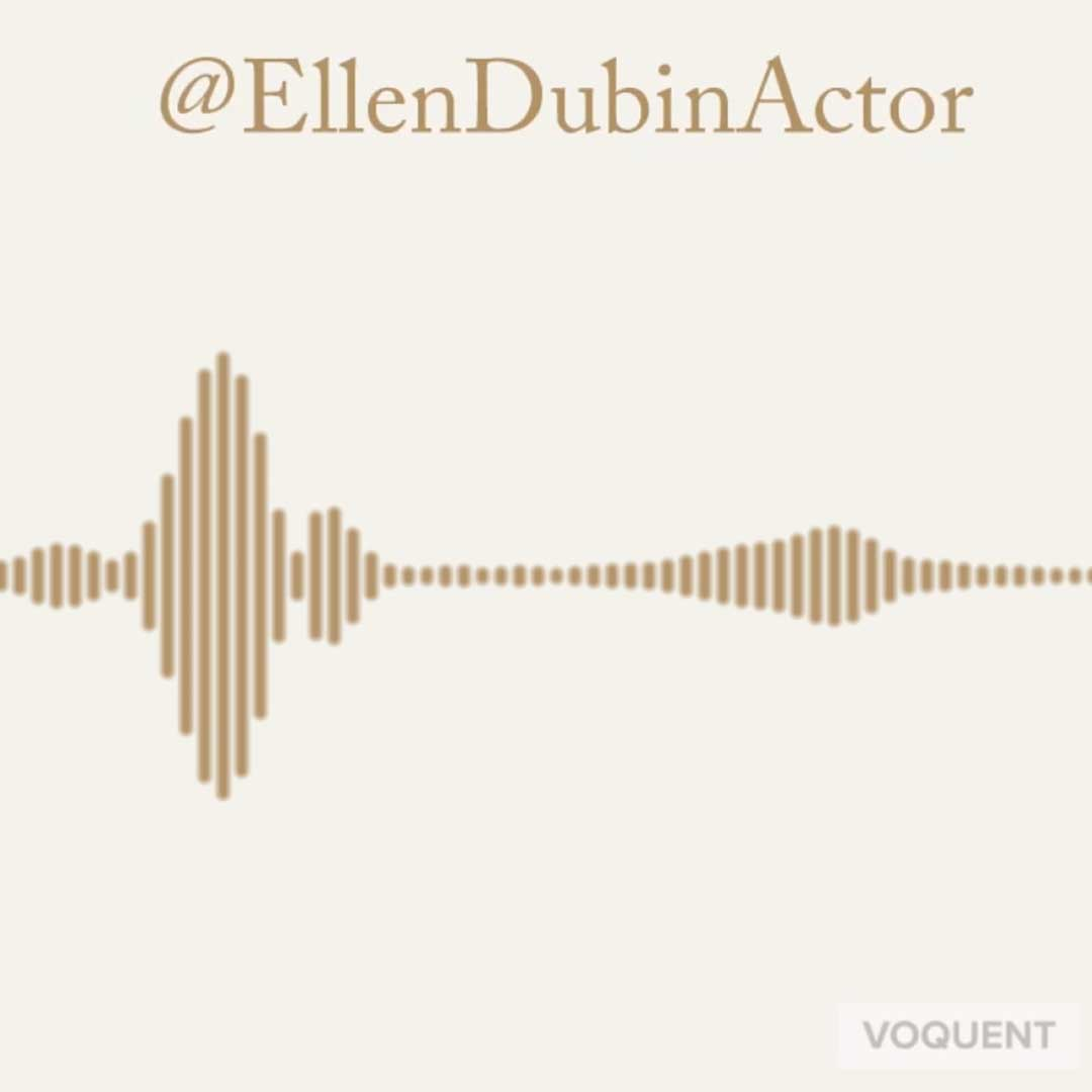 Voice Over Showreels for Twitter and Instagram posts