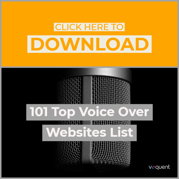 101 voice over websites