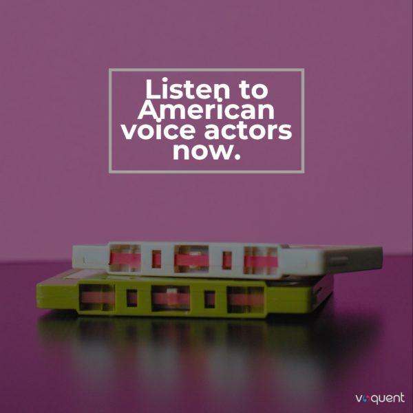 American voice actors link
