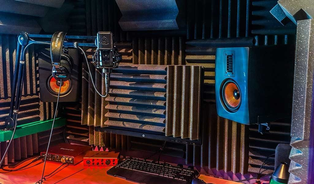 Image result for voice over  studio