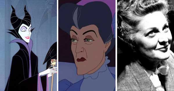 Maleficent voiced by Eleanor Audley