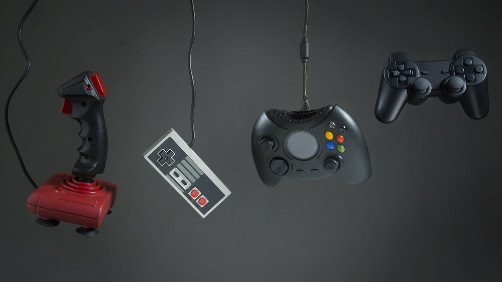 the evolution of gaming controls