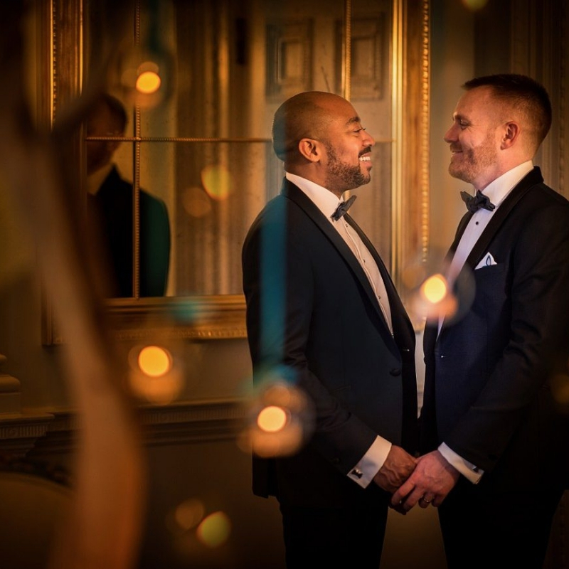 Simon and Darren's stunning day, by Mark Seymour Photography