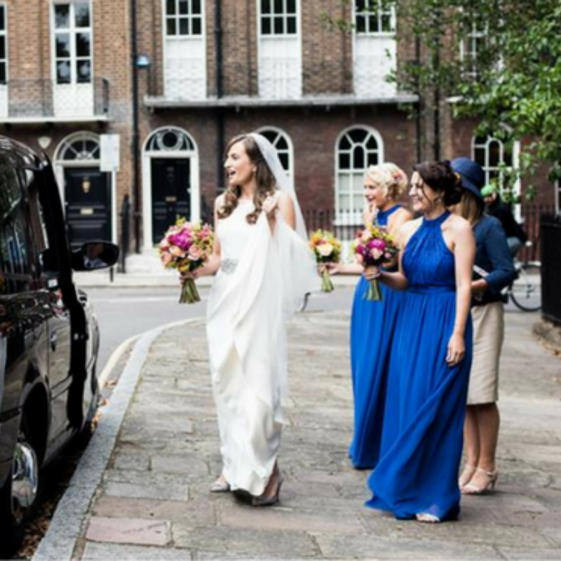 Stylish, Intimate London Wedding