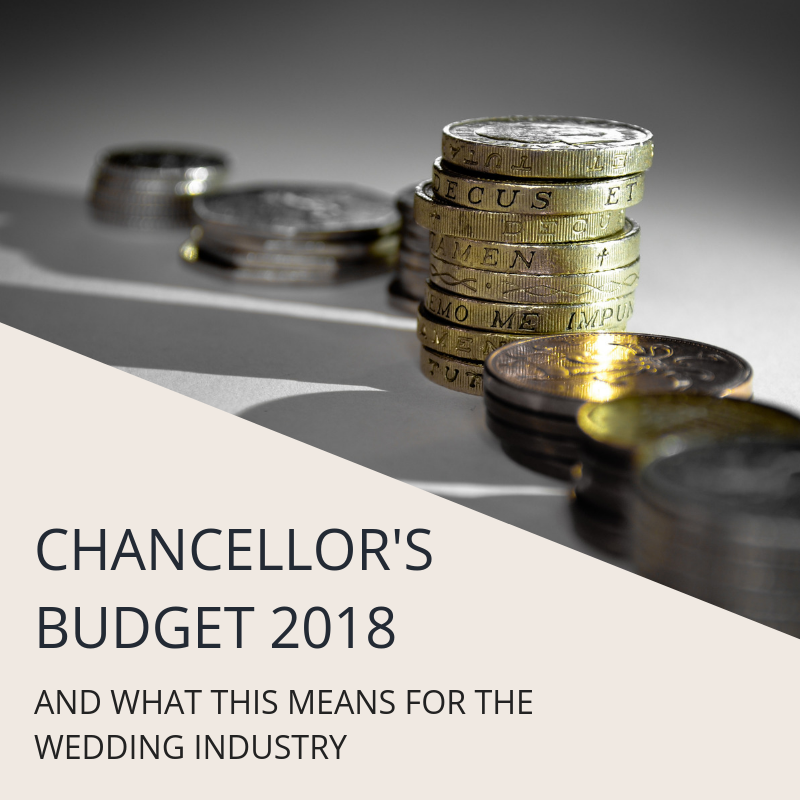 What the 2018 Budget Changes Mean to the Wedding Industry