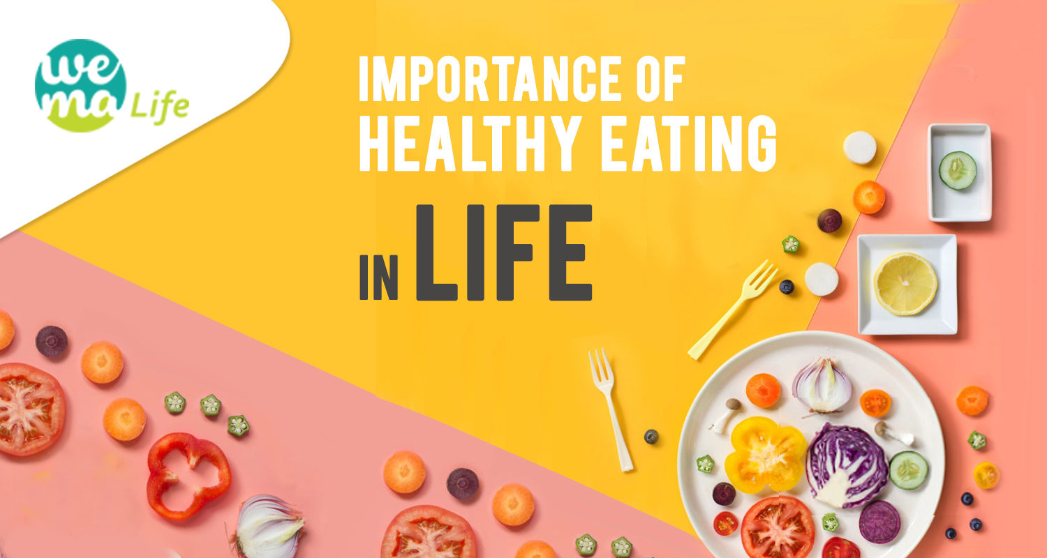 Importance of healthy eating habits and how to stick to them