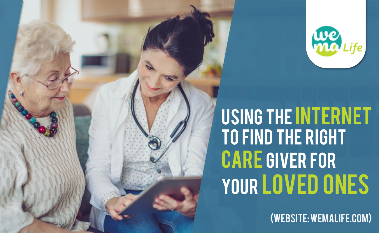 Using the internet to find the right care giver for your loved ones!