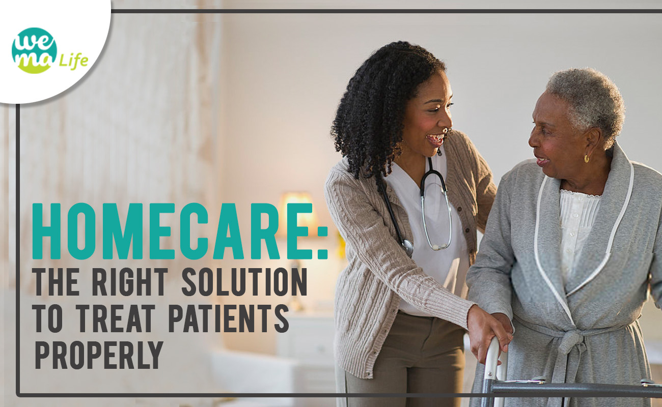 Homecare: The right solution to treat patients properly