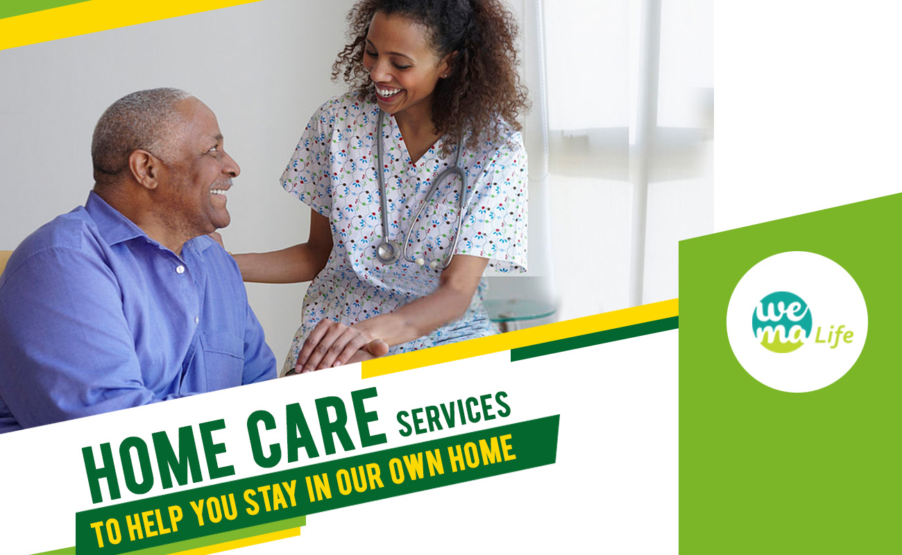 Home care services to help you stay in your own home!