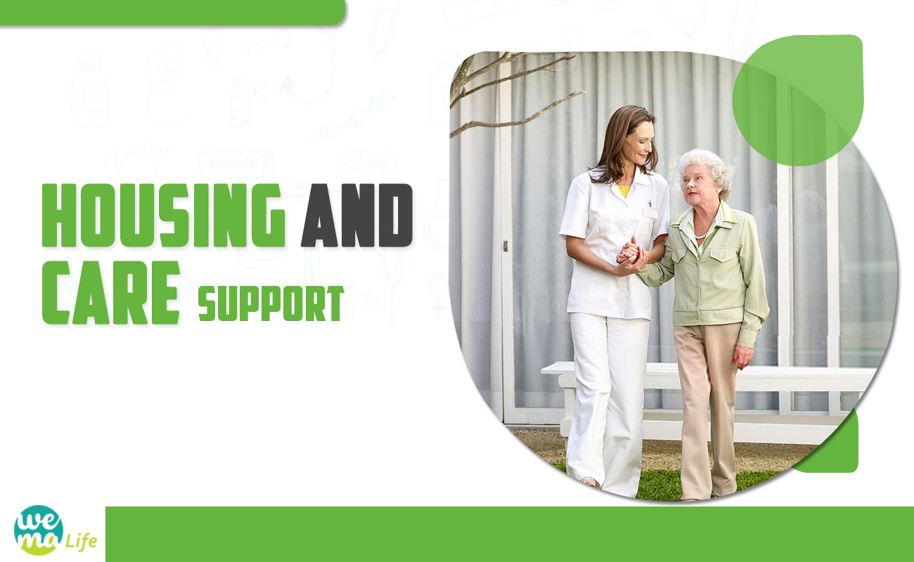 Housing and Care Support Benefits for an elderly individual!