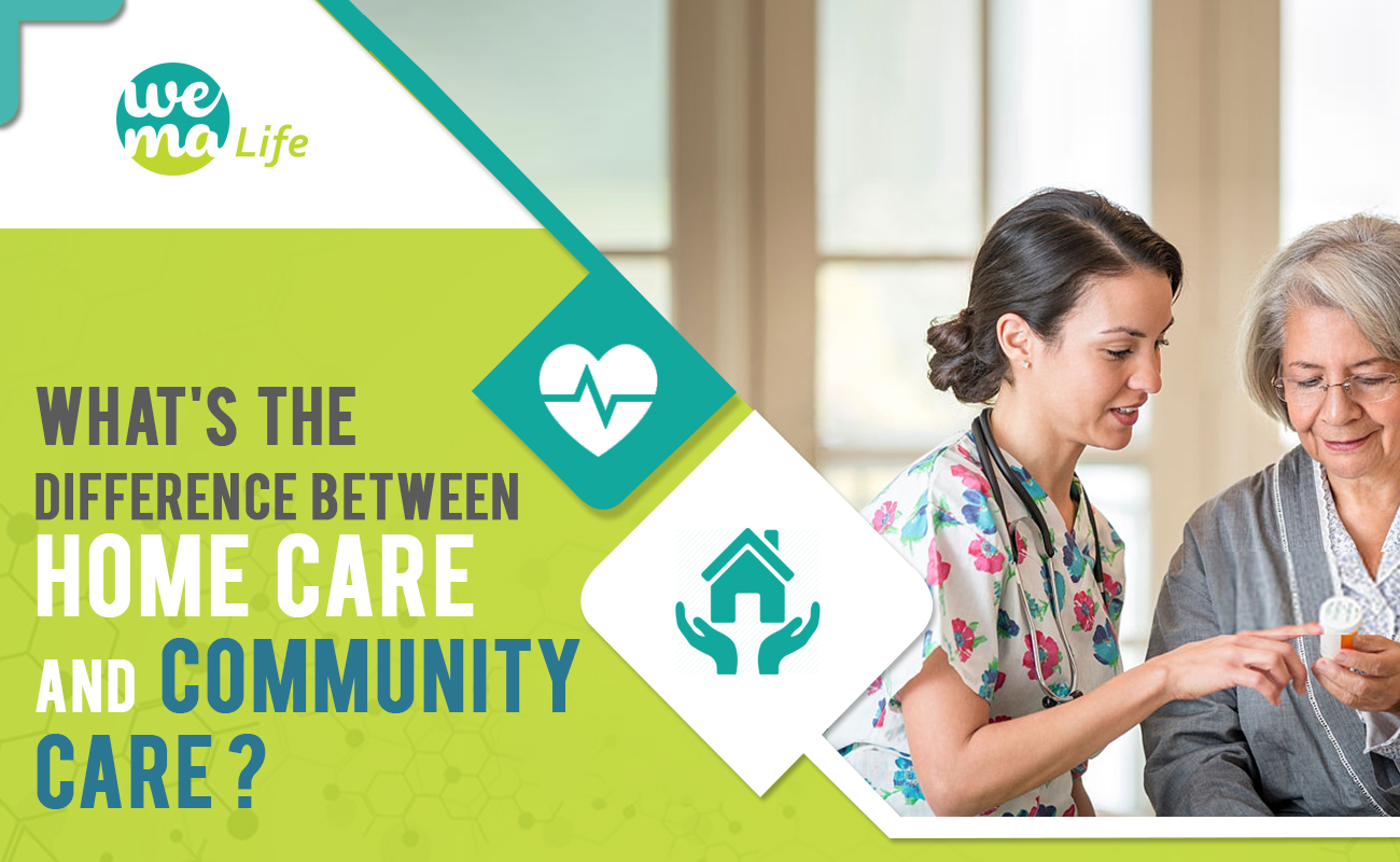 What's the Difference Between Homecare and Community Care?