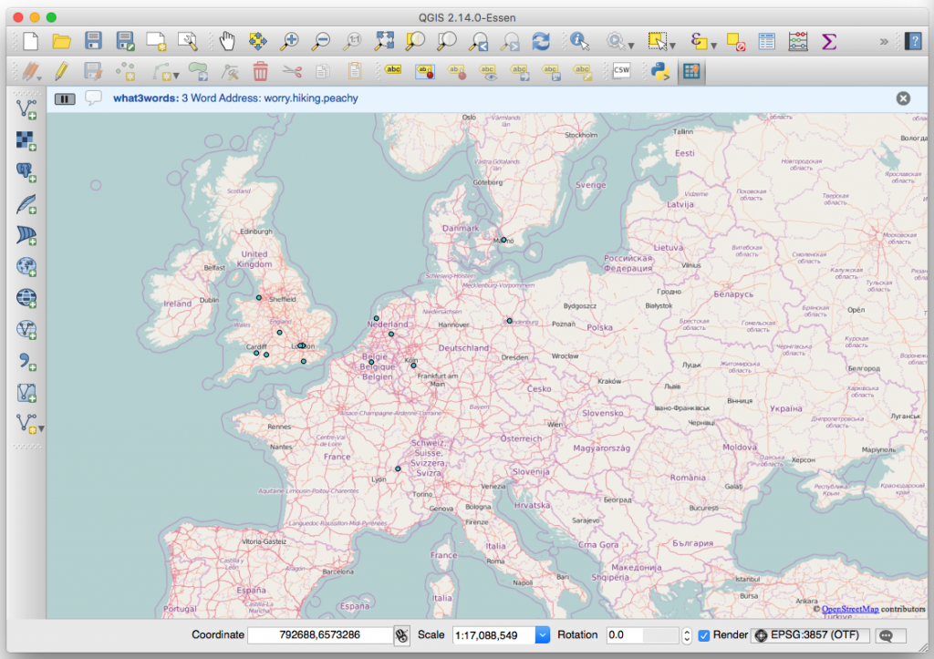 Now you can use what3words in QGIS with Boundless | what3words