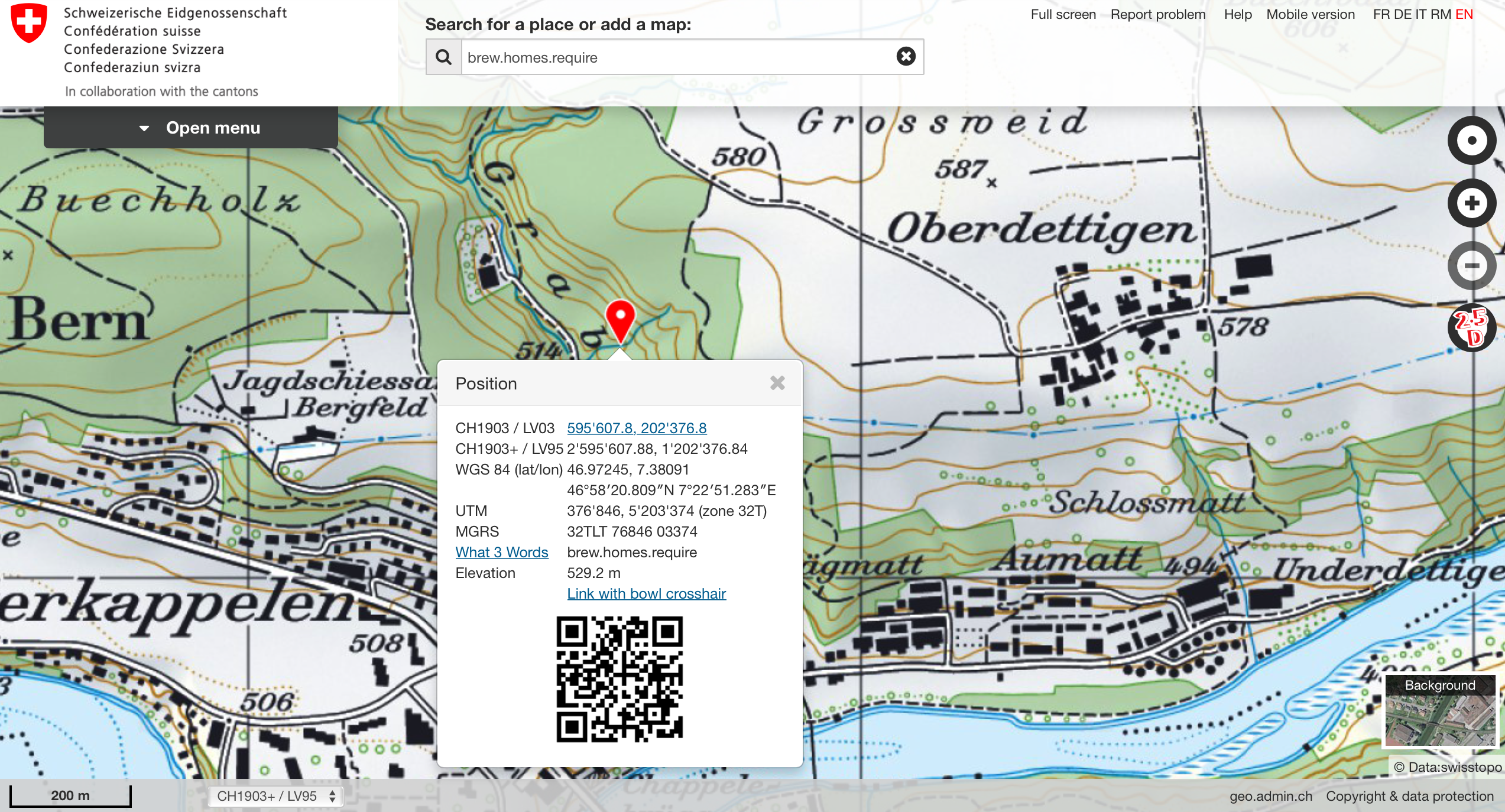 Switzerland's National Mapping Agency Connects with what3words ... on