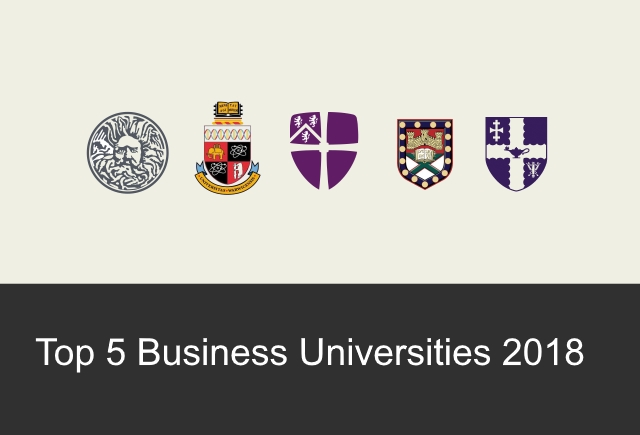 Top 5 Universities for Business in the UK 2018