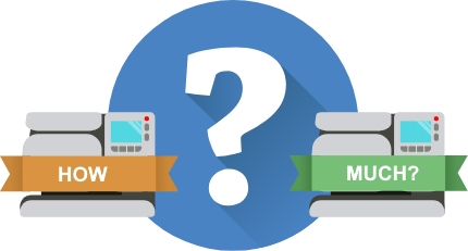 How much does a franking machine cost?