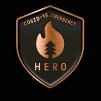 Covid-19 Emergency Bronze Hero Badge