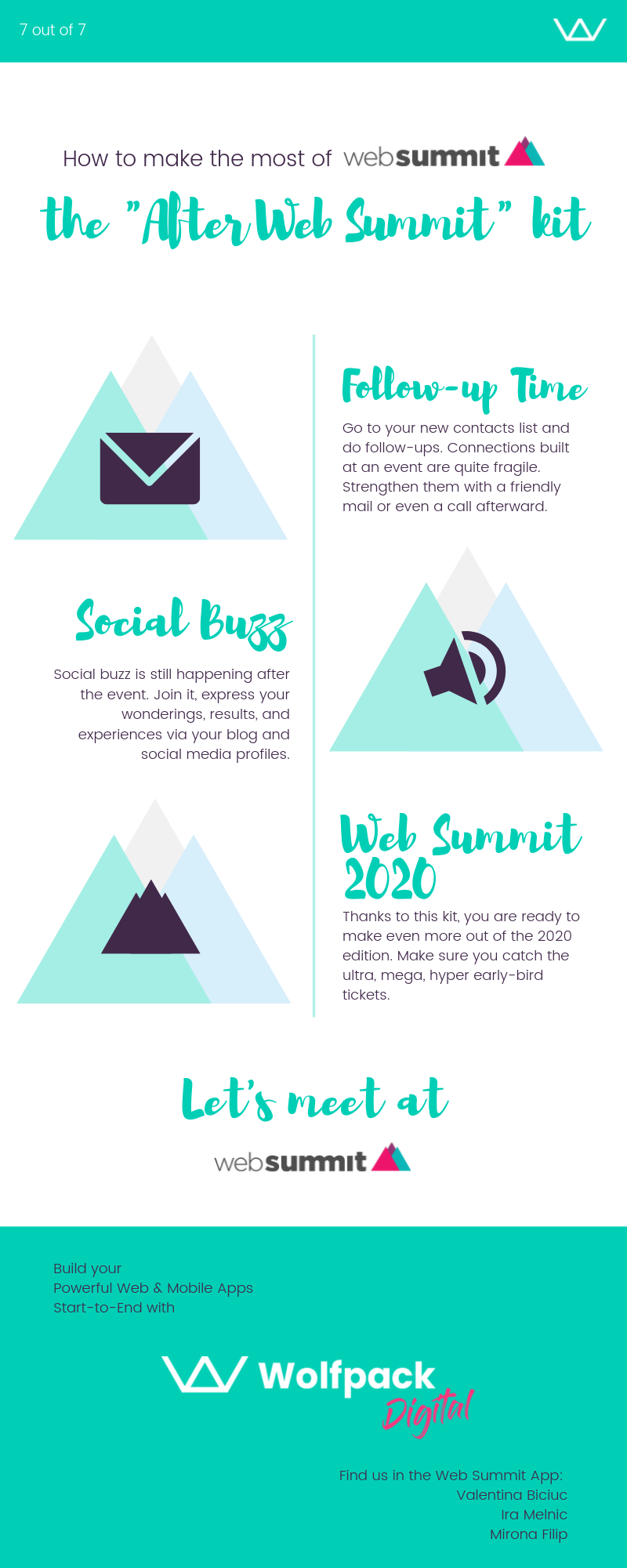 What to do after Web Summit, tickets Web Summit 2020, social media hints from Wolfpack Digital